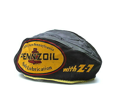 Vintage 1950s PENNZOIL Hat Lubrication Advertising Gas Service Station Attendant