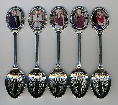 Buffy the Vampire Slayer 5 Silver Plated Spoons Featuring Buffy Vampire Slayer