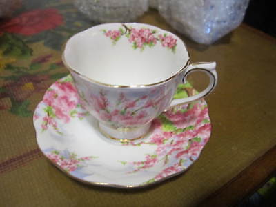 Royal Albert Blossom Time Cup And Saucer Sets - Have 2