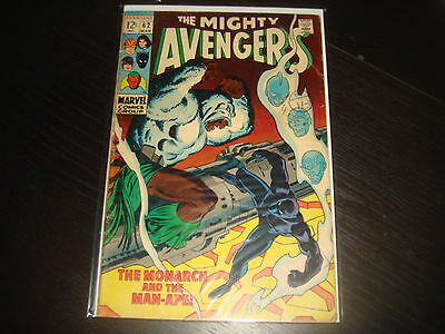 THE AVENGERS #62   Silver Age Marvel Comics 1969  G/VG