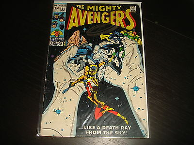 THE AVENGERS #64   Silver Age Marvel Comics 1969 VG