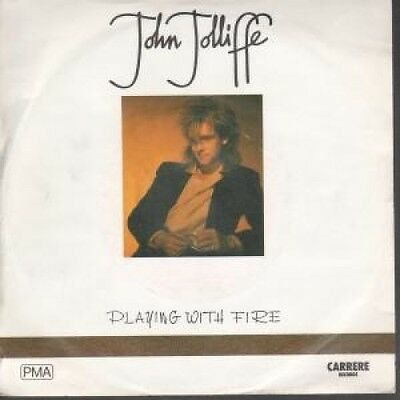 """JOHN JOLLIFFE Playing With Fire 7"""" VINYL B/W Dancing With Myself (Car390) Pic"""