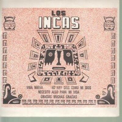 """LOS INCAS S/T 7"""" VINYL 4 Track EP With Insert. Features The Tracks Iva Neuva"""