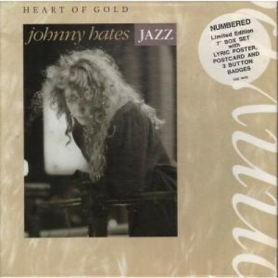 """JOHNNY HATES JAZZ Heart Of Gold 7"""" BOX SET VINYL Limited Numbered"""