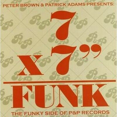 """7 X 7"""" FUNK (THE FUNKY SIDE OF P&P RECORDS) Various Artists 7"""" BOX SET VINYL 7"""