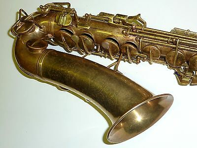 Vintage Transitional Conn Alto saxophone Low pitched Made in USA