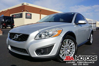 2011 Volvo C30 11 Volvo T5 Hatchback - Clean CarFax! AZ Car! 2011 Silver Volvo C30 T5 Turbo Hatchback like C70 2008 2009 2010 2012 2013 2014