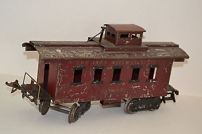 Early Ives 195 Caboose Car Train Standard Ga