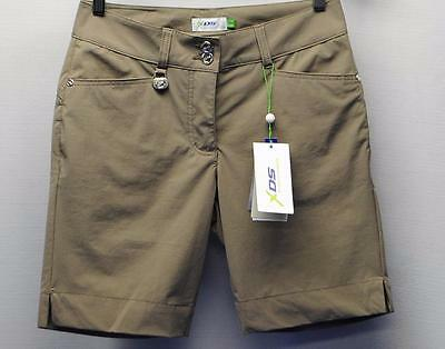 New Ladies Size 2 Daily Sports XDS Nylon Spandex Golf Shorts