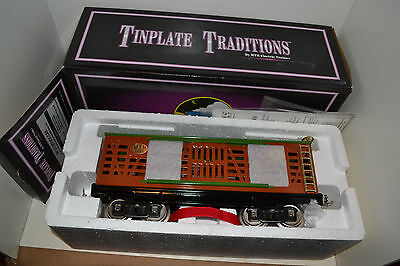 MTH Tinplate Traditions 10-203 213 200 Series Stock Car Standard Gauge Nice