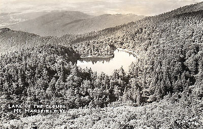 Lake of the Clouds Mount Mansfield VERMONT USA 1950s © Richardson RPPC 446