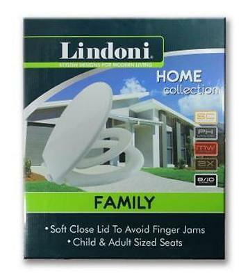 FAMILY TOILET SEAT converts for adult or children 2 in 1 toilet training kids