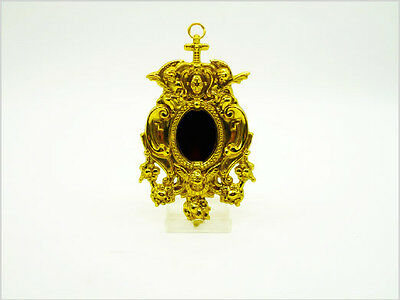 Brass SMALL RELIQUARY - OVAL