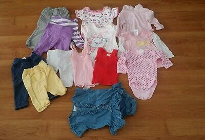 Baby Girl Clothes Bundle Size 00, & 000 & 0000 - 14 items!