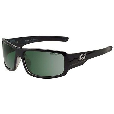 Dirty Dog Bubba Polarised Sunglasses - Black Marble/Green