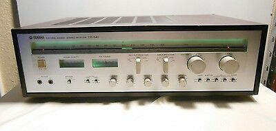 Vintage Yamaha CR-840 Natural Sound Stereo Receiver Tested