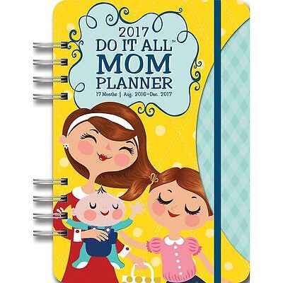 "Mom's 2017 ""Do-It-All"" Weekly Planner NEW by Orange Circle"