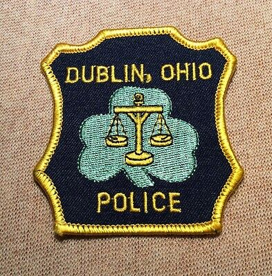 OH Dublin Ohio Police Patch