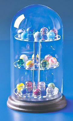 1 of Our Best Glass Domes Display Case For Minerature Collectables Spheres