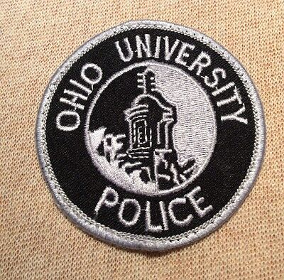 OH Ohio University Police Patch (3In)