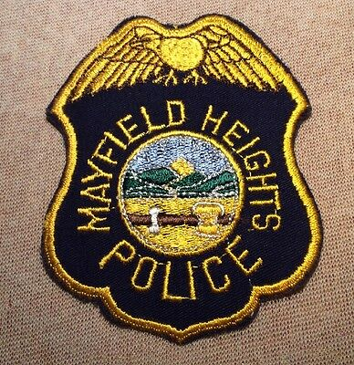 OH Mayfield Heights Ohio Police Patch