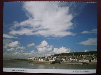 Postcard Somerset Weston Super Mare  - Great View