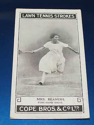 Cope Bros Lawn Tennis Strokes #18 Mrs Beamish Fore-Hand Drive