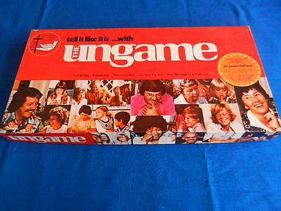 The Ungame Vintage Board Game 1975