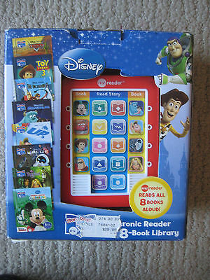 Toddler Kid Reading System Disney Electronic Reader And 7 Story Book Library