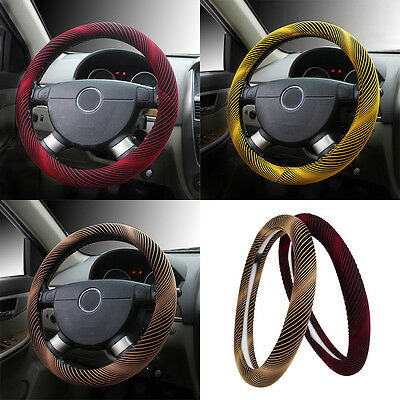 Universal Soft Wool Plush Fluffy Car Steering Wheel Cover/Glove For Winter Warm