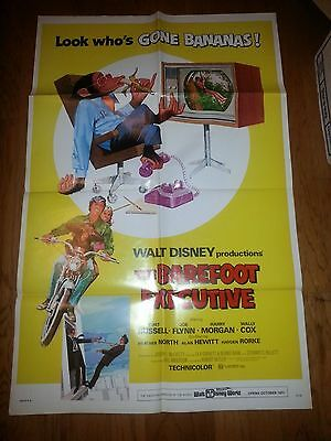Barefoot Executive  1971 Original Movie Poster Disney 1Sh