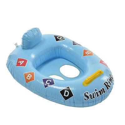 1X Kid Baby Seat Swimming Swim Ring Pool Aid Trainer Beach Float Inflatable QW