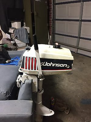 2.3 Hp Johnson Outboard Engine