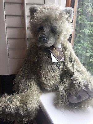 Charlie Bears - Footprints - Mohair - Isabelle Collection - Limited to 350 - NEW