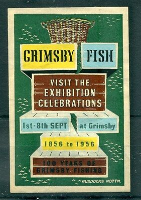 Great Britain Fish Grimsby Lincolnshire Centenary Exhibition Port 1956