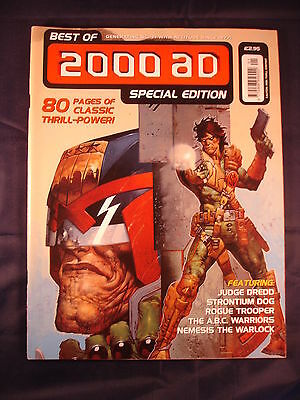 Best of 2000AD special edition Comic 1999
