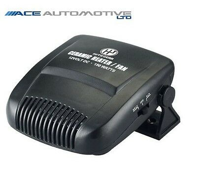 Vauxhall Combo 2001-2011 Powerful 150W 12V Plug In Car Heater/fan/defroster Dash