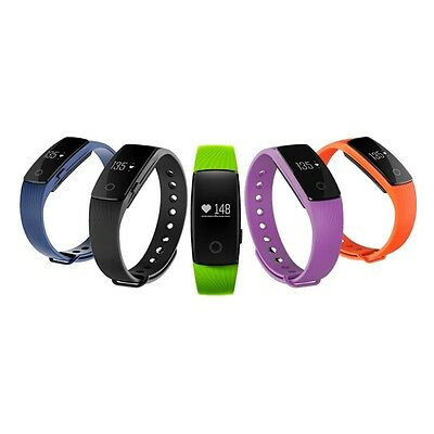 Fit Smart Fitness Watch Wristband Heart Rate Pedometer Track Band