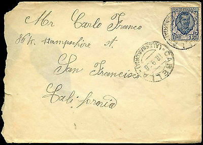 Italy 1928 Cover #C38445