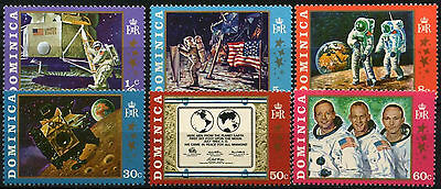 Dominica 1970 SG#296-301 Moon Landing MNH Set #D38114