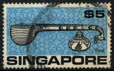 Singapore 1968-73 SG#114, $5 Definitive Used #D38068