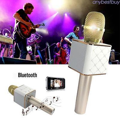 Wireless Handheld  Bluetooth Karaoke Player Microphone Mic Home KTV For iPhone