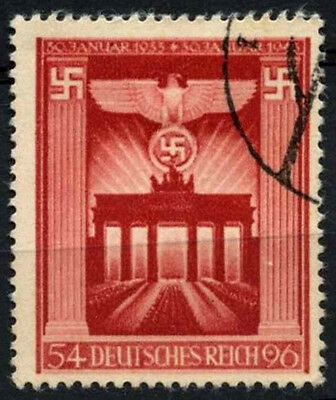 Germany Third Reich 1943 SG#817, 10th Anniv Of Third Reich Used #D37652