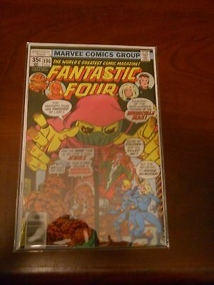 Fantastic Four 196 High Grade Archived in Mylar Multi Ship Rate