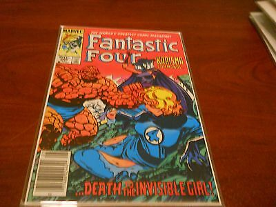 Fantastic Four 266 High Grade Archived in Mylar Multi Ship Rate