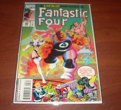 Fantastic Four 386 High Grade Archived in Mylar Multi Ship Rate