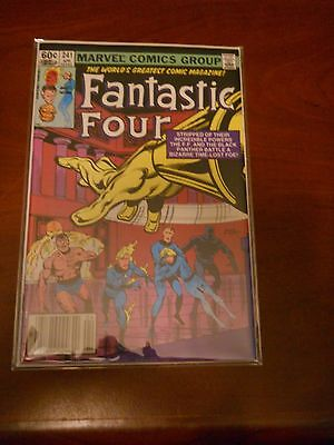 Fantastic Four 241 High Grade Archived in Mylar Multi Ship Rate