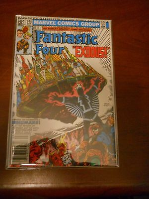 Fantastic Four 240 High Grade Archived in Mylar Multi Ship Rate