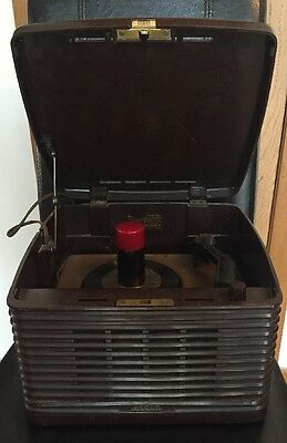 Vintage Decca 45 RPM Record Player for Parts or Restoration
