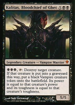 Kalitas, Bloodchief of Ghet | NM | Zendikar | Magic MTG